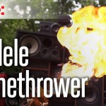 Mad Max Doof Warrior Flamethrower Ukulele