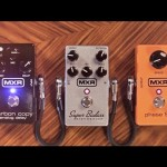 MXR pedal combination video demo